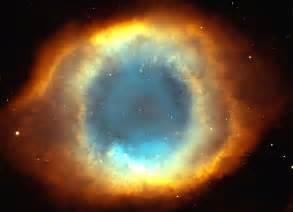 Eye God Helix Nebula of Hubble