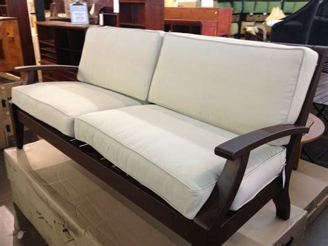 Settee Cushion Pads by Pottery Barn Chesapeake Hstead Outdoor Sofa Chair