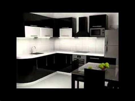 Kitchen Backslash Ideas - black and white kitchen cabinets youtube