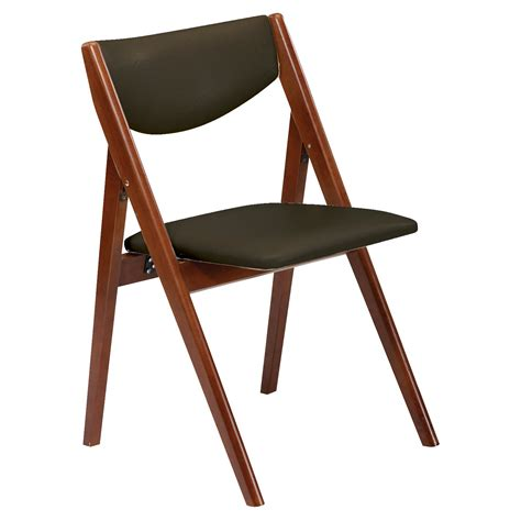 Stakmore Folding Chairs by Stakmore Comfort Folding Chair Set Of 2 Dining Chairs