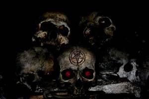 Demon skull by Qhristian on DeviantArt