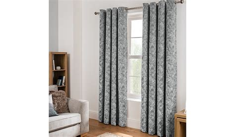 Grey Textured Chenille Eyelet Curtains Matching Curtains To Wall Color Custom Window Online Poles Apart Curtain Shower Rod Harris Tweed Mildew Resistant Pinterest Orange Colored