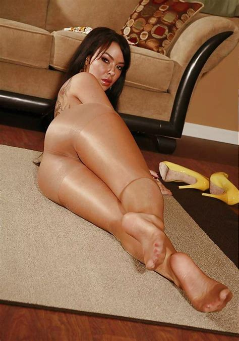 Sheer Pantyhose Covered Asses Pics XHamster