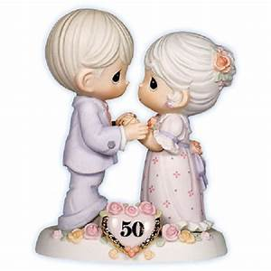precious moments 50th wedding anniversary porcelain With 50th wedding anniversary figurines