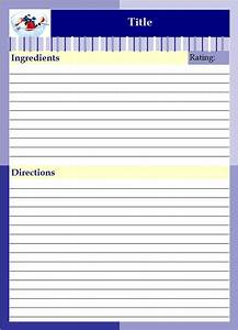 recipe binder lazyday expressions With free recipe templates for binders