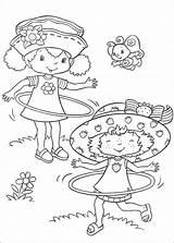 Coloring Strawberry Shortcake Popular sketch template