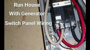 Wiring Generator To House