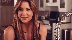 pretty little liars ashley benson gif | WiffleGif