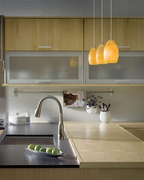 track lighting with pendants kitchens