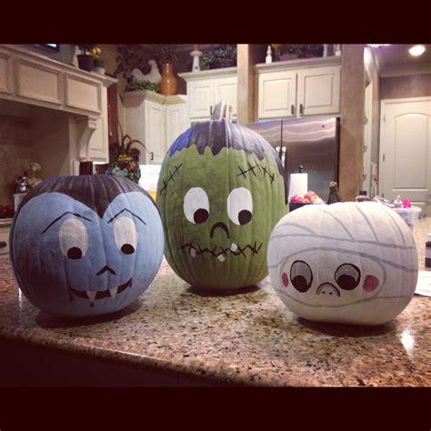 paint a pumpkin ideas 10 cute spooky and fun diy painted pumpkin ideas paintings holidays and pumpkin ideas