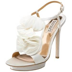 wedding shoes badgley mischka bridal shoes