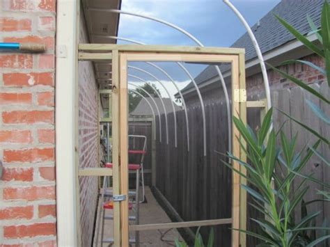 diy attached home greenhouses