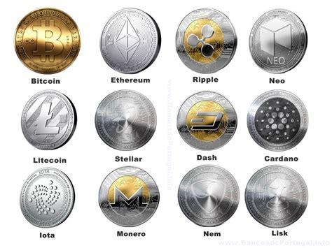 informacao sobre   maiores criptomoedas moedas