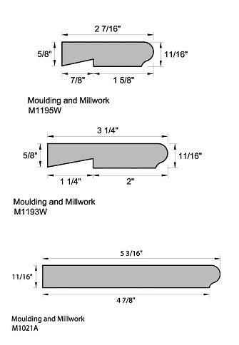 Moulding and Interior Trim Boards - Still Lumber Company