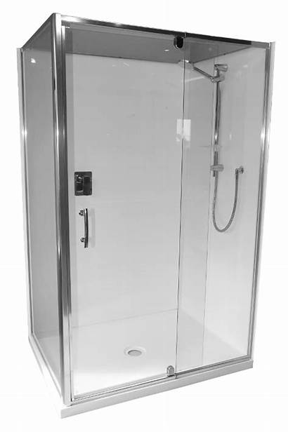 Shower 1200 Cubicle Corner Moulded Tray Low