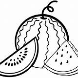 Watermelons Mitraland Pinclipart sketch template