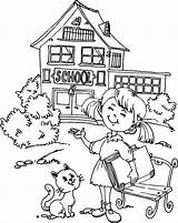 Coloring Pages Going Cat Printable Goes Nancy sketch template