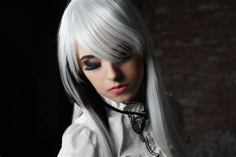 Coloured Hair by Colored Hair Silver Streaks Lionesse Flat Irons