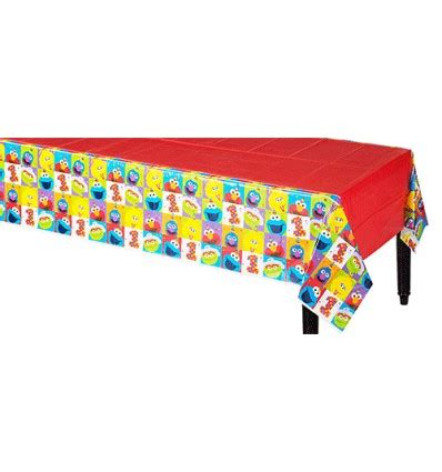sesame street table cover sesame street 1st birthday table cover party supplies in