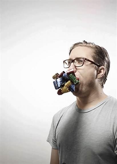 Romain Laurent Animated Portraits Bizarre Gifs Portrait