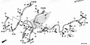 Honda Motorcycle 2019 Oem Parts Diagram For Brake Hose