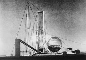 Ivan Leonidov's proposal for the Lenin Institute in Moscow