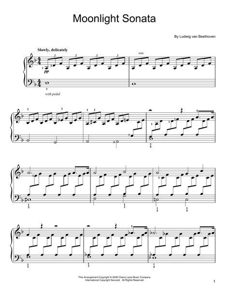 moonlight sonata sheet  direct