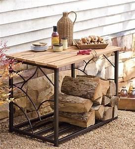 20, Excellent, Diy, Outdoor, Firewood, Storage, Ideas