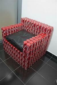 Coca Cola Möbel : sill n hecho con latas de coca cola coca cola pinterest besonderheiten praktisch und m bel ~ Indierocktalk.com Haus und Dekorationen