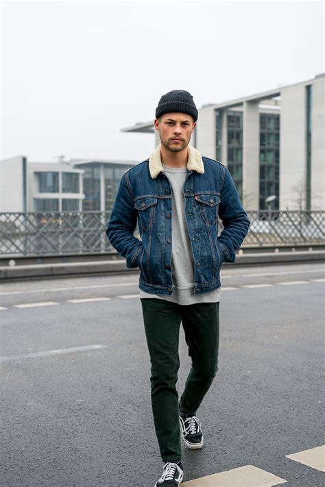 Kevin Elezaj - Vans Sneaker Loom Cord Pants Nike Sweater Leviu0026#39;su00ae Jacket - Tired   LOOKBOOK