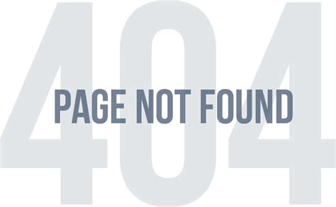 Page Not Found Png