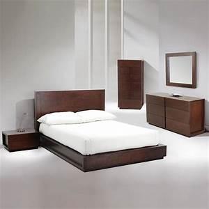 Ariana Platform Bed Bedroom Set Beaver King Sets Also