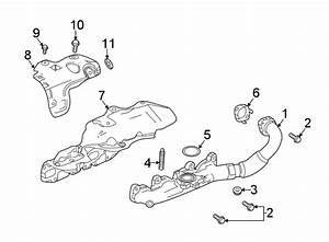 Chevrolet Cruze Bolt  Heat  Shield  Manifold  Exhaust
