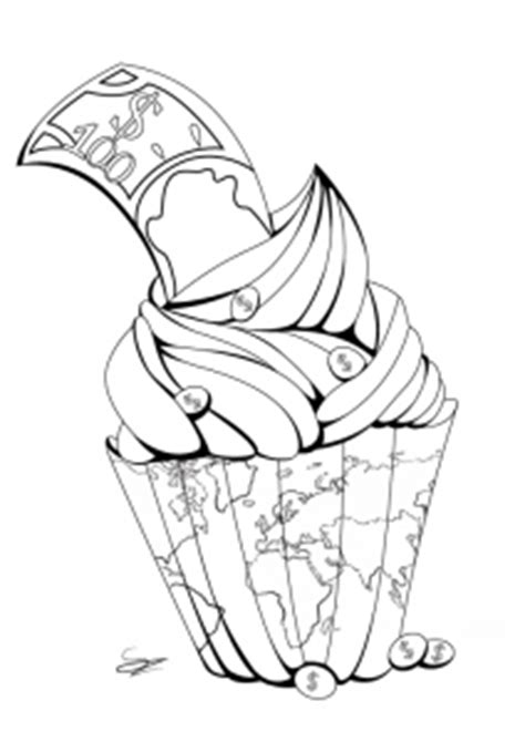 cupcakes  cakes coloring pages  adults