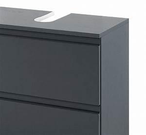 Bad Unterschrank 60 Cm : waschbeckenunterschrank cardiff waschtisch unterschrank badschrank 60 cm grau ebay ~ Whattoseeinmadrid.com Haus und Dekorationen