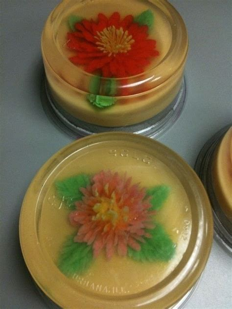 flower  jello     jelly food