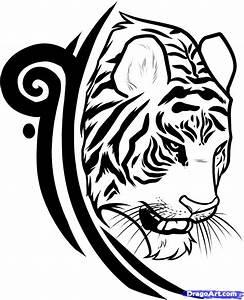 How to Draw a Tiger Tattoo Design, Tiger Tattoo Design ...