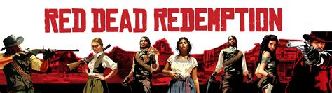 red dead redenmption cover dual monitor wallpaper pixelz