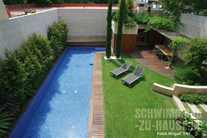 Schwimmbad Garten Kosten : ein kleines paradies von mauern umgeben schwimmbad zu ~ Markanthonyermac.com Haus und Dekorationen