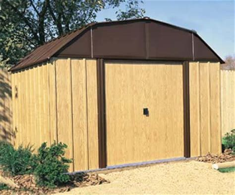 Metal Storage Shed Kits by Woodview 10 W X 8 D Arrow Metal Outdoor Storage Shed Kit