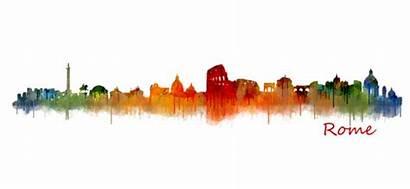 Rome Skyline Hq Transparent Duvet V02 Bleed