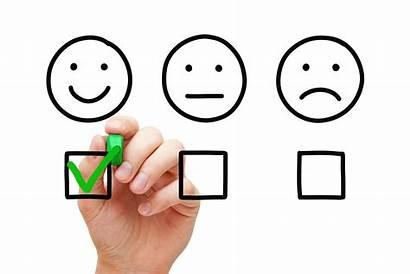 Feedback Happy Customer Client Concept Cliente Feliz