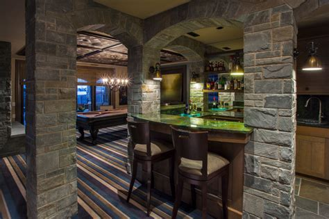 Custom Lake House   Traditional   Basement   Calgary   by
