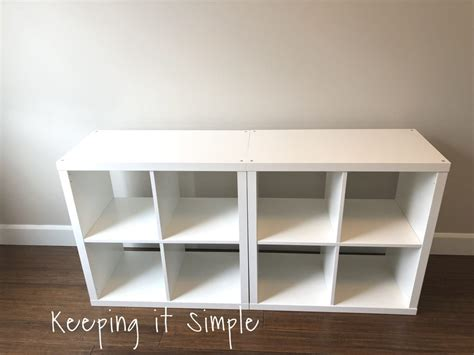Ikea Hack Diy Computer Desk With Kallax Shelves Keeping