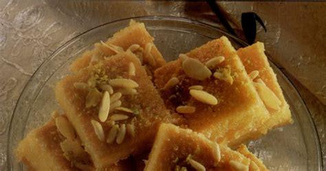recette de cuisine tf1 13 heure recette carrés à la semoule et sirop de
