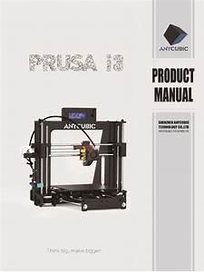 Anycubic I3 Manual Pdf