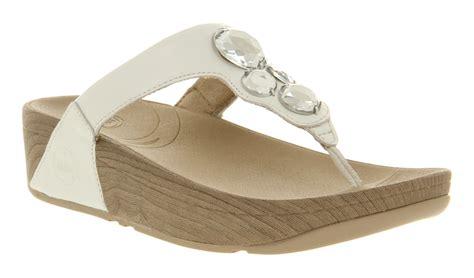 Womens Fit Flop Lunetta Fitness Sandal Urban White Sandals