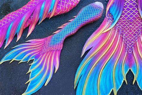 rainbow swimable mermaid tails  adult  teens