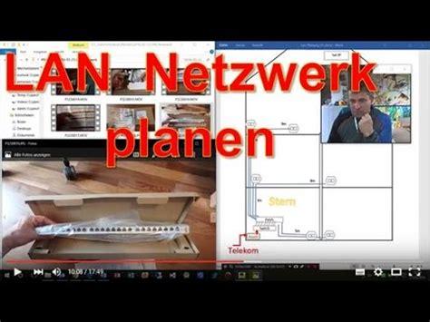 lan heimnetzwerk planen verlegen lan switch patchpanel