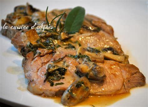 comment cuisiner roti de porc rôti de porc aux chignons de et aux herbes aromatiques la cuisine d 39 agnèsla cuisine d